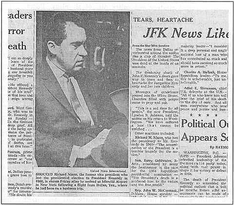 Dirty Politics -- Nixon, Watergate, and the JFK Assassination